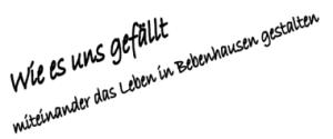 Wie es uns gefällt - Leben in Bebenhausen